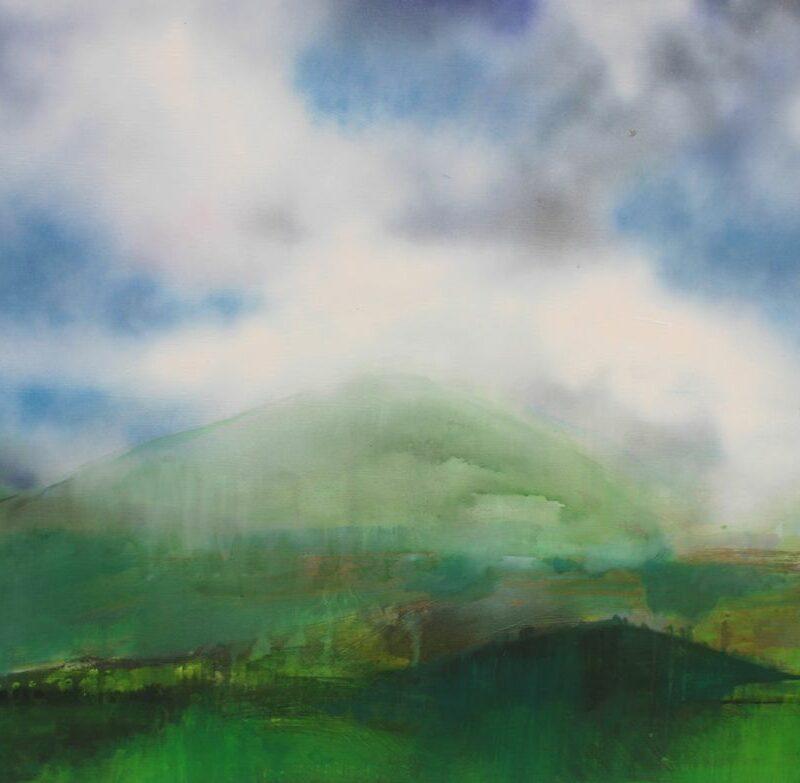 2012, N°1, 80 X 100,acrylique sur toile