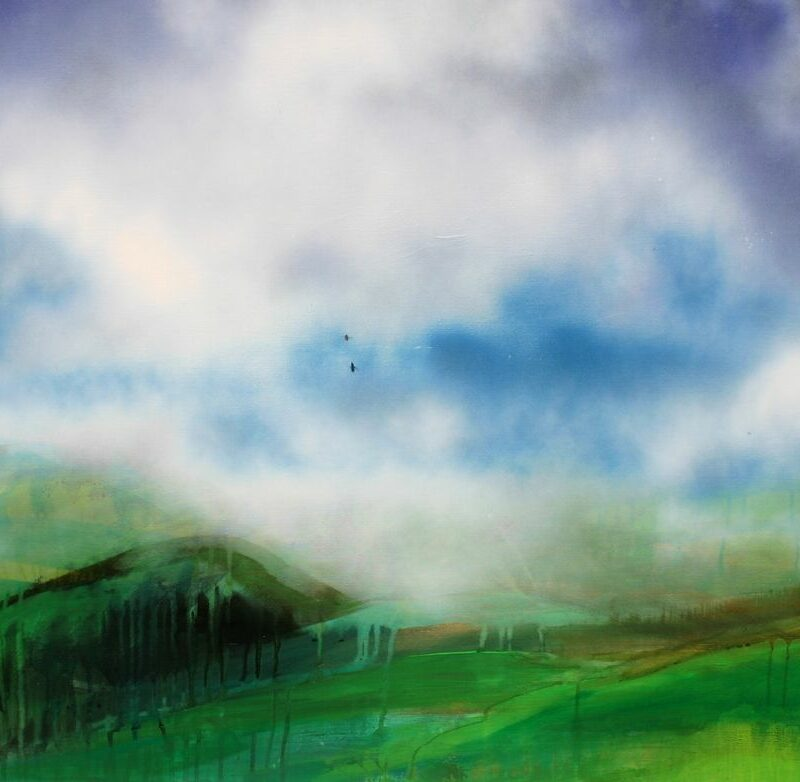 2012, N°2, 80 X 100, acrylique sur toile
