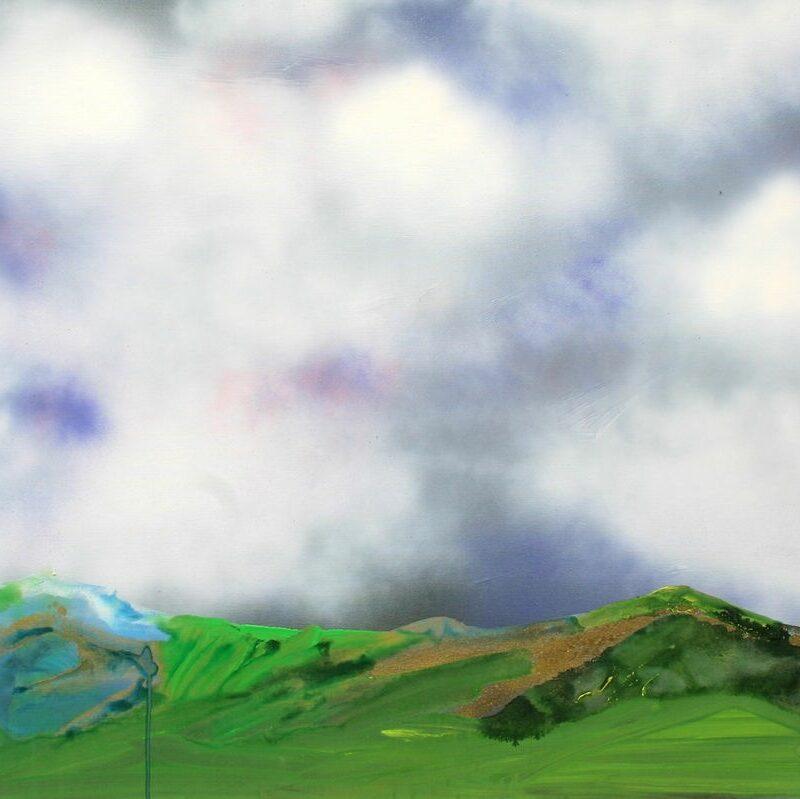 2012, N°4, 80 X 100, acrylique sur toile